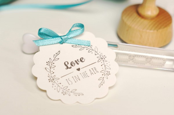 "Stempel - ""Love is in the Air"" - Design Zarte Ranke"