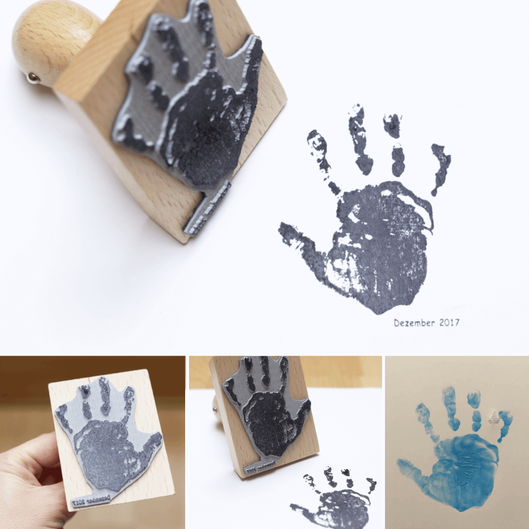 Handabdruck-Stempel-Original-Babystempel-Fotogruessec25bOSowgQfQx